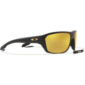 Oakley Split Shot Sunglasses, matte black/prizm 24k polarized